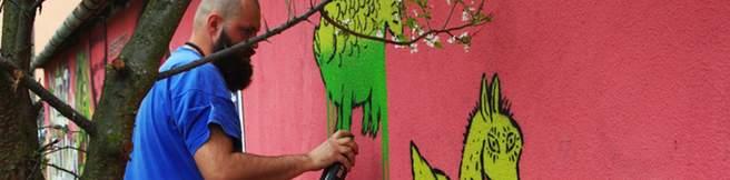 Artyści graffiti i street art we wspólnej akcji przeciwko GMO