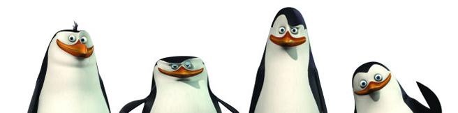 Żądna zemsty ośmiornica i czterech agentów 007. Pingwiny z Madagaskaru powracają!