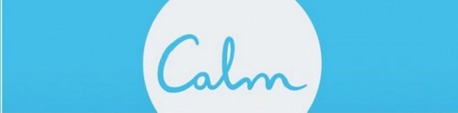 """Keep """"Calm"""" i podziwiaj krokusy"""