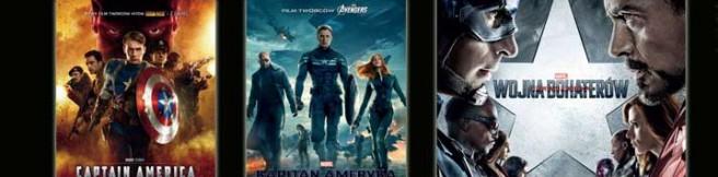 Maraton filmowy z Kapitanem Ameryka w kinach Cinema City już 6 maja