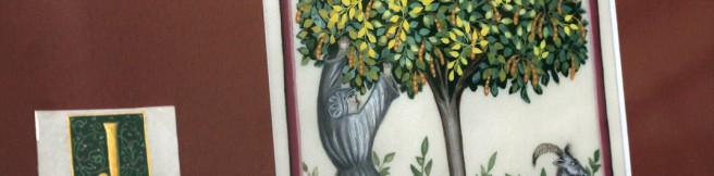 """""""Ogród dziwny"""" – wystawa miniatur średniowiecznych. Zobacz fotorelację!"""