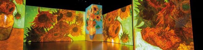 Tradycyjne wystawy czy multimedialne? Van Gogh Alive