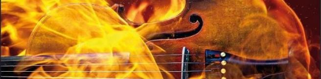 """Romans, skrzypce i dziwne rozwiązanie. """"Igrając z ogniem"""" Tess Gerritsen"""